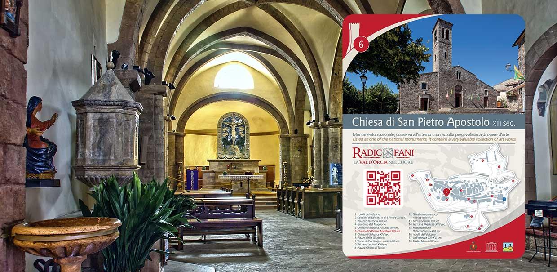 chiesa di san Pietro a Radicofani